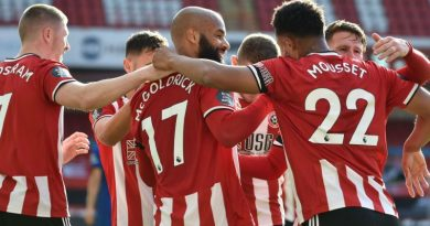 Sheffield United assist McGoldrick after abuse as Zaha requires change