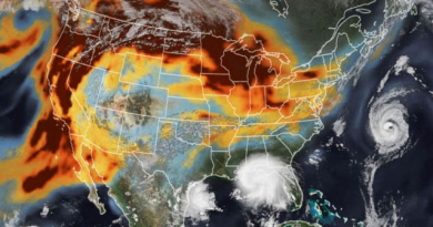 Nasa Information – Smoke and Storms on the earth