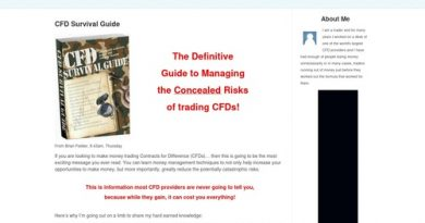 CFD Survival Information: Contracts for Differerences and CFDs