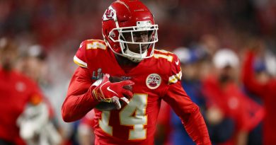 Chiefs WR Sammy Watkins questionable for Week three vs. Ravens