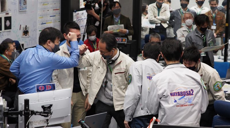 Japanese capsule returns to Earth with essential asteroid samples