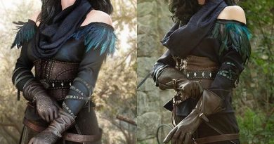 Yennefer cosplay