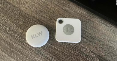 Apple AirTags vs Tile tracker