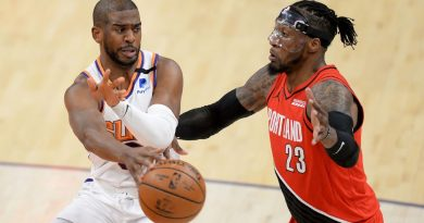 NBA playoff watch – Phoenix Suns gradual Portland Path Blazers' roll; San Antonio Spurs clinch play-in