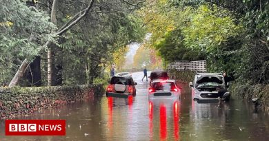Heavy rain sees houses flooded and journey disrupted in Cumbria